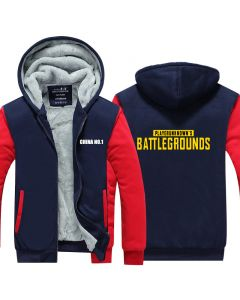 PlayerUnknown's Battlegrounds Thicken Pullover Hoodie