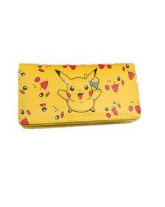 Pocket Monster Pikachu Pu Leather Wallet