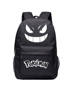 Pokemon Gengar Canvas Backpack Students Book Bag