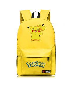 Pokemon Pikachu Canvas Backpack Students Shoulders Bag