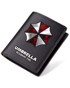 Resident Evil Umbrella PU Leather Bifold Wallet