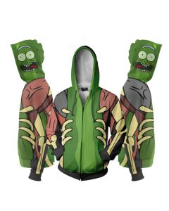 Rick and Morty 3D Pullover Hoodie Sweatshirt