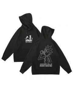 Rick and Morty Fleece Hoodie Pullover Sweatshirt