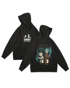 Rick and Morty Rick Wars Hoodie Fleece Sweatshirt