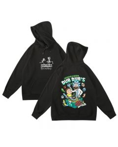 Rick and Morty Wubba Lubba dub-dub Hoodie Sweatshirt