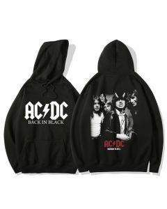 Rock Band AC/DC Hoodies Fleece Sweatshirt