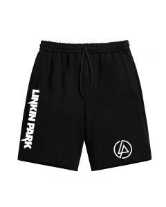 Rock Band AC/DC Shorts Elastic Waist Trousers