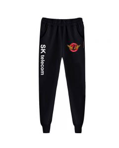 SK telecom T1 Printed Sweatpants Fleece Jogger Trousers