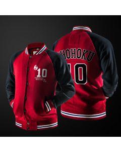 Slam Dunk Shohoku School Hanamichi Sakuragi Number 10 Baseball Jacket