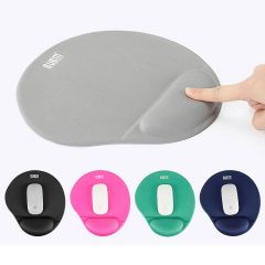 Soft Silicon Gel Mouse pad Mouse Mat Mousepad with Wrist Support