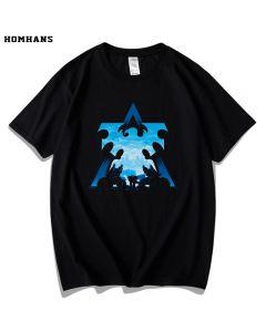 Starcraft 2 The Terrans T-Shirt  Cotton Tee Top