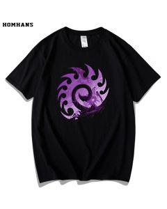 Starcraft 2 The Zerg T-Shirt  Cotton Tee Top