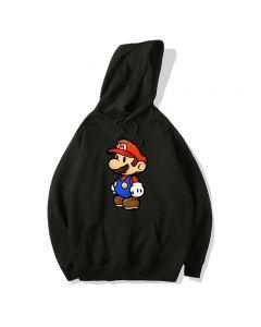 Super Mario Bros Pullover Hoodie Hooded Sweatshirt