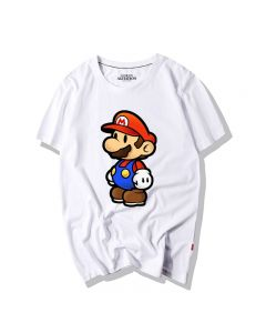Super Mario Bros T-Shirt Short Sleeve Tee Top
