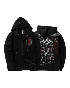 Sylvanas Windrunner Embroidery Pullover Hoodie Zipper Jackets