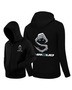 Team Cloud9 Shroud Printed Zip-up Hoodie