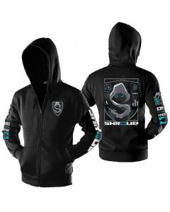 Team Cloud9 Shroud Printed Zipper Hoodie