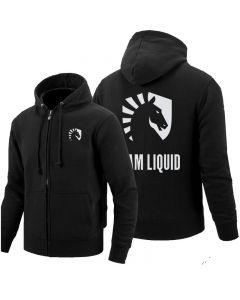 Dota 2 Team Liquid Zip Jacket Pullover Outerwear