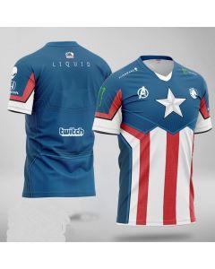 Team Liquid x MARVEL Captain America Jersey