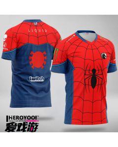 Team Liquid x MARVEL Spider-Man Jersey