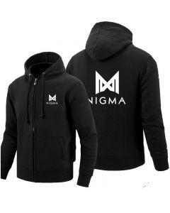 Team Nigma Full-zip Hoodie Cotton Jackets