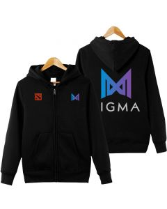 Team Nigma jackets Casual Full-Zipper Hoodie