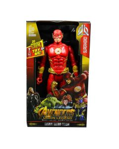 The Flash Action Figure Model With LED Light And Sound