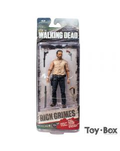 The Walking Dead Rick Grimes PVC Action Figure Model