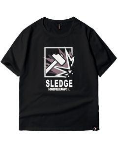 Tom Clancy's Rainbow Six Siege Sledge T-shirt Cotton Tee Shirt