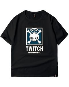 Tom Clancy's Rainbow Six Siege Twitch T-shirt Cotton Tee Shirt