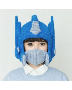 Transformers Optimus Prime Knitted hat