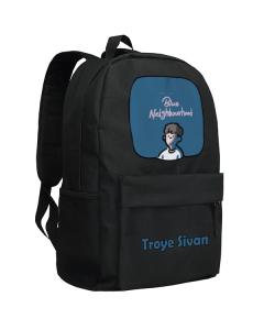 Troye Sivan Backpack School Bag Canvas Bag