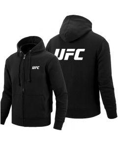 UFC Full Zip Hoodie Hooded Sweatshirt