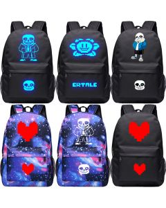 Undertale Backpack Luminous Student Bag