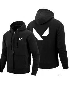 Valorant Full Zipper Hoodie Hooded Sweatshirt