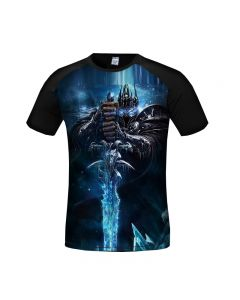 World of Warcraft Arthas Menethil 3D Printed T-Shirt