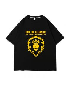 World of Warcraft For The Alliance Cotton Men T-Shirt