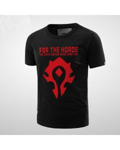 World of Warcraft For The Horde Cotton Men T-Shirt