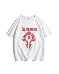 World of Warcraft for the HordeT-shirts Tee Top