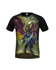 World of Warcraft Illidan Stormrage 3D Printed T-Shirt
