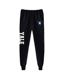 Yale Bulldogs Print Sweatpants Adjustable Waist Jogger Pants
