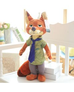 Zootopia Nick Fox Plush Soft Stuffed Toys Doll