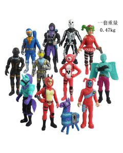 12pcs Fortnite figure action Toy model doll Decoration