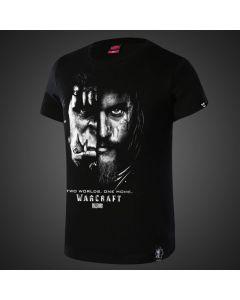 Warcraft Movie Black White T shirt