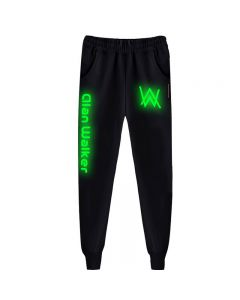Alan Walker Faded Luminous Trousers Casual Pants