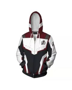 Avengers Endgame Quantum Realm Sweatshirt Hoodie Cosplay Costumes