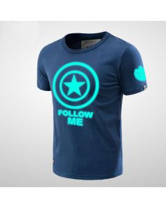 Captain America Luminous Men T-shirt