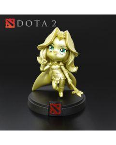 Crystal Maiden golden Demihero Figurine