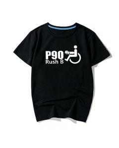 CSGO P90 RUSH B Short Sleeve Tee Shirt