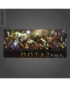 Dota 2 All Hero Graphic Mouse Pad